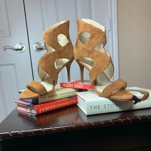 Marc Fisher Cognac Sandals